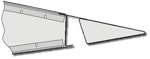 "View of the ""hingeless"" aileron (cross section)"