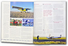 "PilotMag magazine, September / October 2009 issue: ""A Life Better Lived - Building An Airplane That Suits Your Personal Needs,"" by Jim Cavanagh, pages 98 - 101."