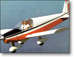 Chris Heintz pilots the original Zenith CH 200 in 1974