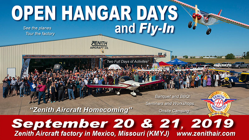 2018 Open Hangar Days!