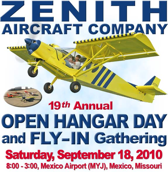 OPEN HANGAR DAY & FLY-IN GATHERING
