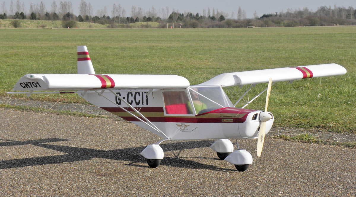 Rc Scale Models Of The Stol Ch 701 Plans Built R C And