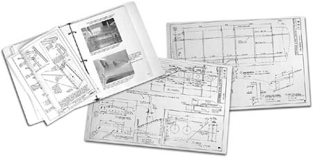 STOL CH 750 Drawings and Manuals (sample photo only)