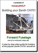 Step-by-step video guide of the forward fuselage assembly of the STOL CH701