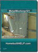 Introduction to sheet-metal construction; assembly of the rudder starter kit