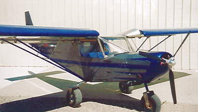 Clarence Wood's STOL CH 701 with Rotax 914 installation
