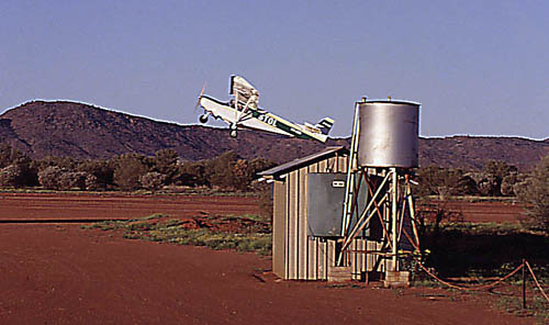 Flying the stol ch 701 in australia