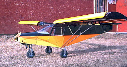 RC scale models of the STOL CH 701  Plans-built r/c and remote
