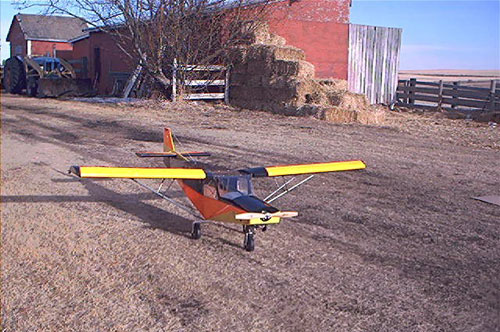Rc scale models of the stol ch 701. plans built r c and remote