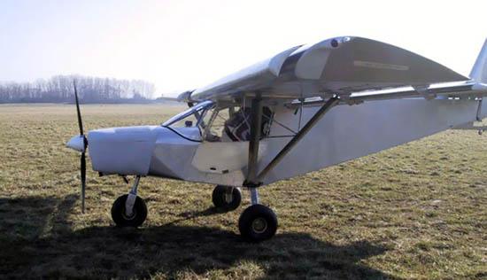 Stol ch 701 with a custom jabiru 3300 engine installation
