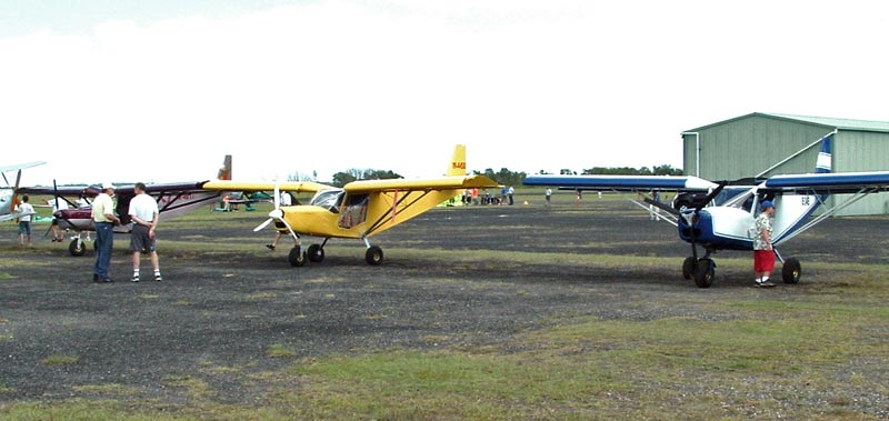 Small gathering of stol ch 701s in australia