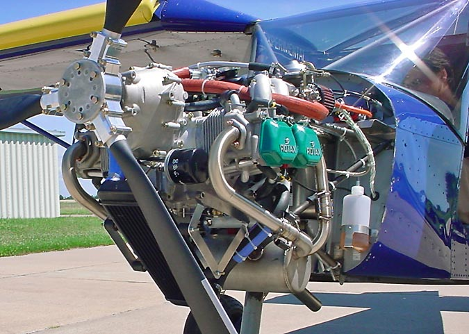 STOL CH 701 Engine / Powerplant
