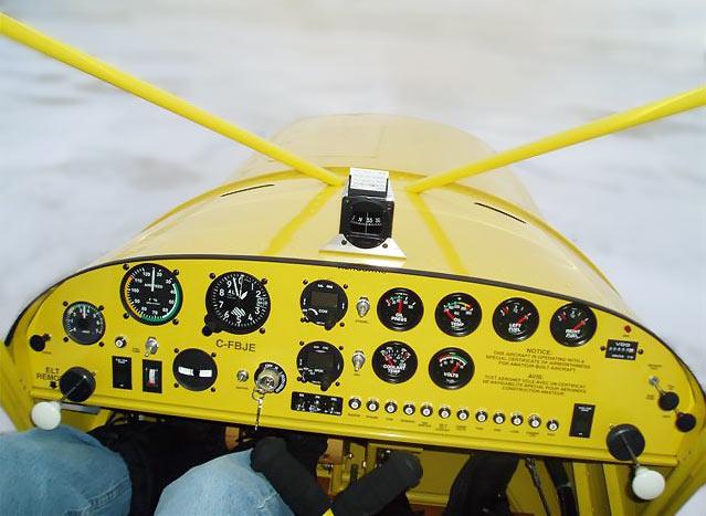 Stol on Aircraft Dash Panels