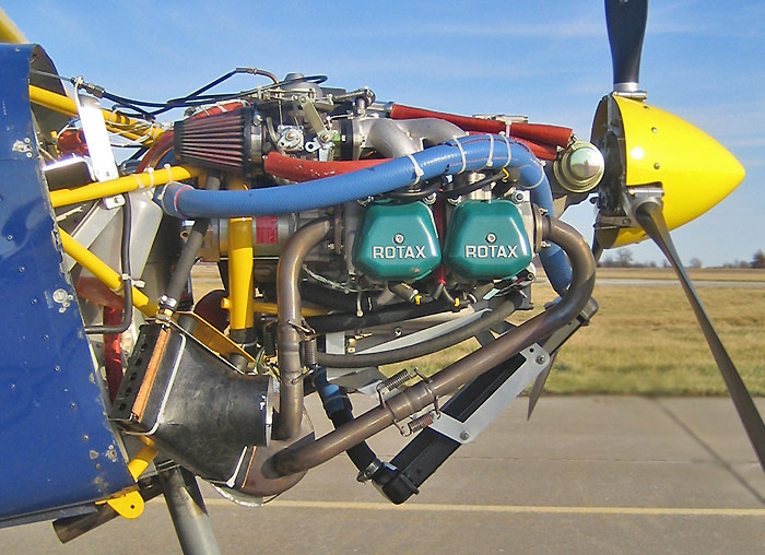 STOL CH 701 Engine / Powerplant