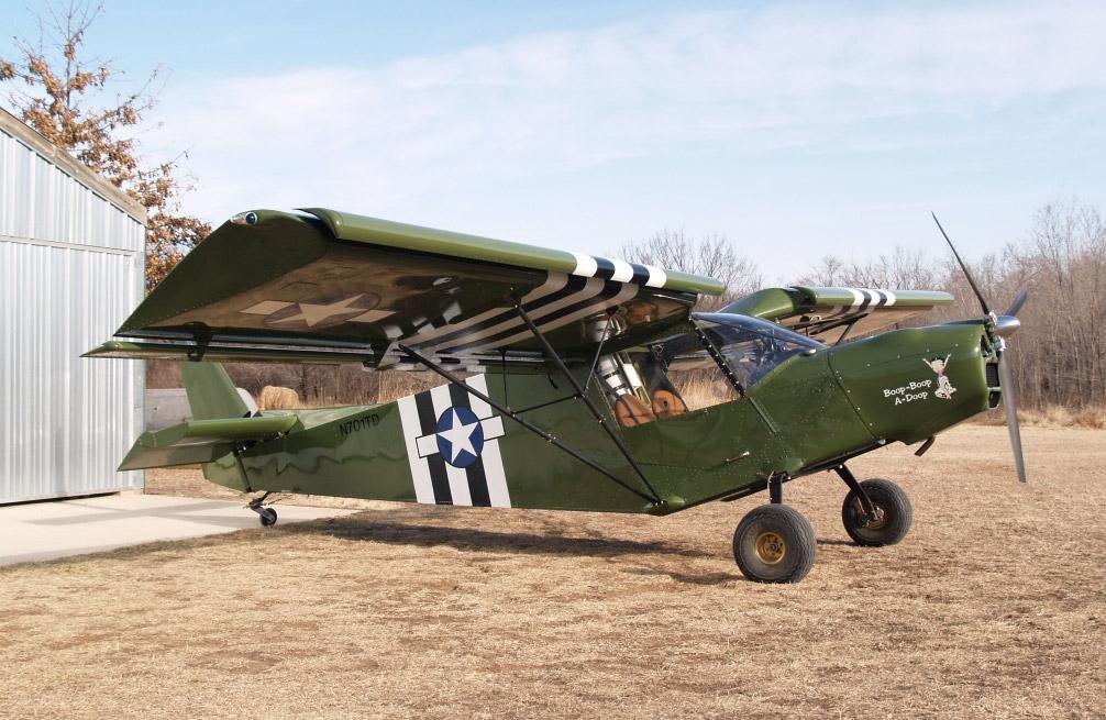 Light Sport Utility Kit Aircraft: STOL CH 701 Airplane Photo