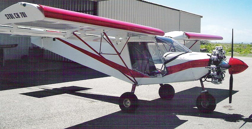 stol ch  kit airplane photo gallery  short    landing light sport aircraft