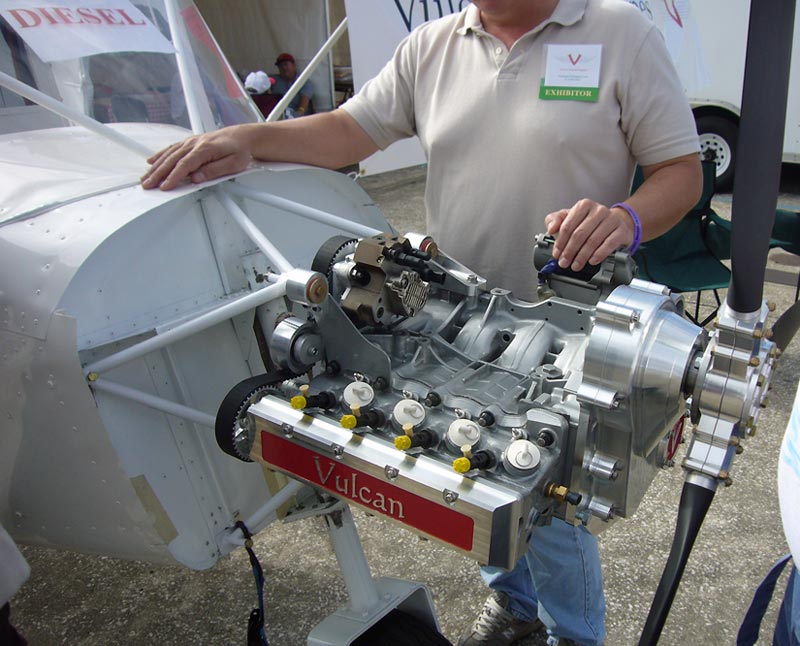 Turbo vw aircraft engines
