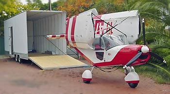 STOL CH 701 - asas dobradas