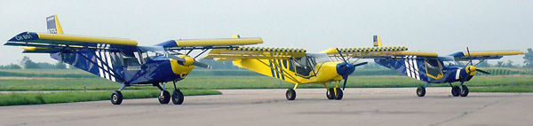STOL CH 750 with the 801 and 701