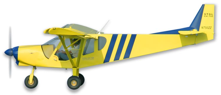 STOL CH 750 light sport utility airplane from Zenith