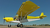 STOL CH 750 with drooped slats