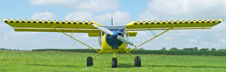 STOL CH 750 with the Jabiru 3300 engine installation
