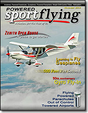 Powered SPORT FLYING magazine 11/13