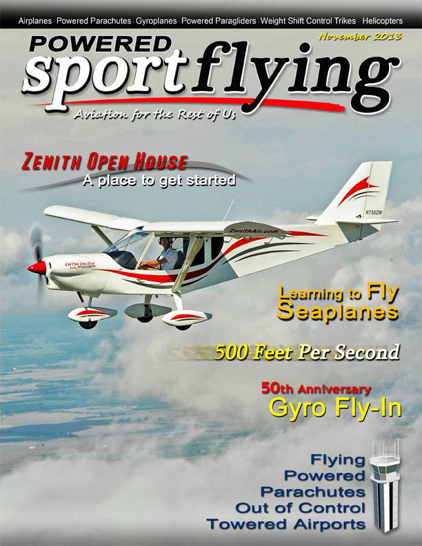 401096645a6 ... Powererd SPORT FLYING magazine