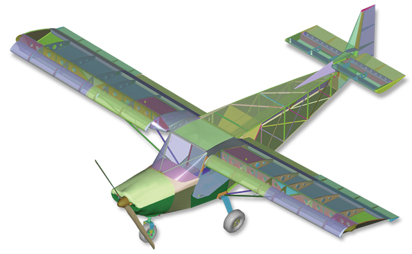 Zenith Aircraft Company's STOL CH 750 kit