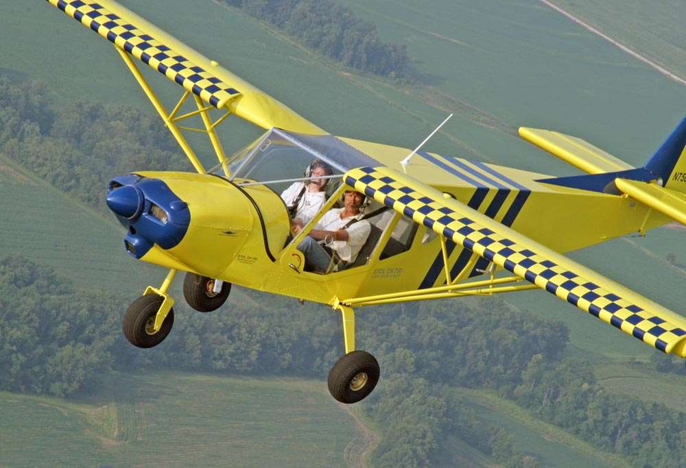 Perfect Zenith Introduces The STOL CH 750 Light Sport Utility Aircraft.  Photo