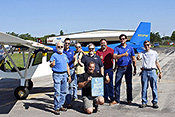 First flight of the EAA staff built CH 750