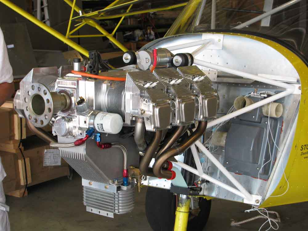 Jabiru 3300 - Light Sport Aircraft Engine