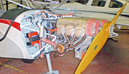 Jabiru Installation on the STOL CH 750