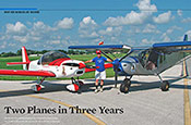 Two Planes in Three Years