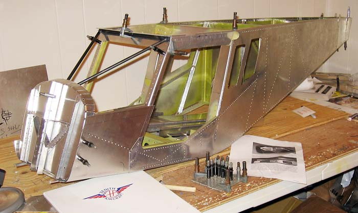 RC scale models of the STOL CH 701. Plans-built r/c and remote control aircraft scale model