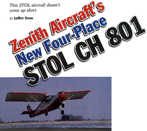 STOL CH 801 Flight Report (CustomPlanes 6-99)