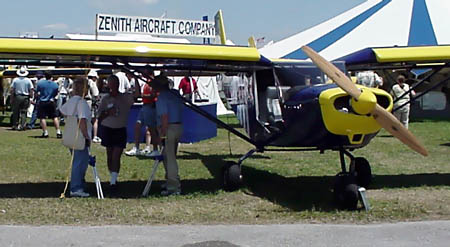 Stol ch 801 with a 220-hp franklin engine