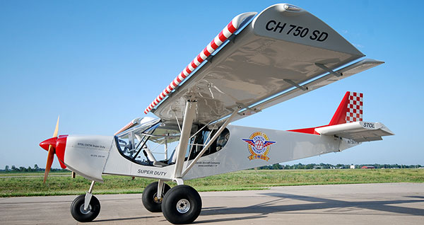 The STOL CH 750 Super Duty