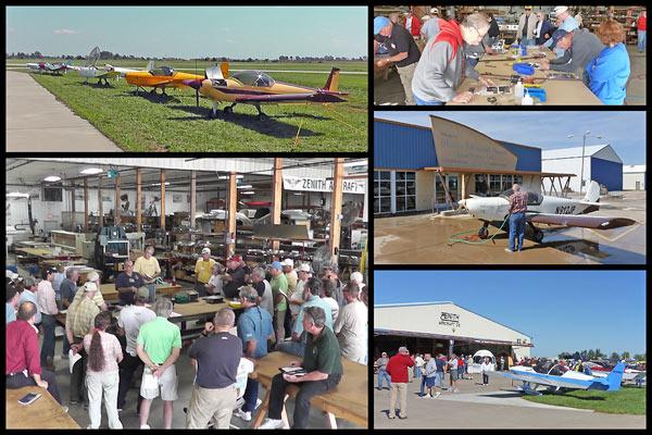 Video Clip: Zenith Open Hangar Day 2012