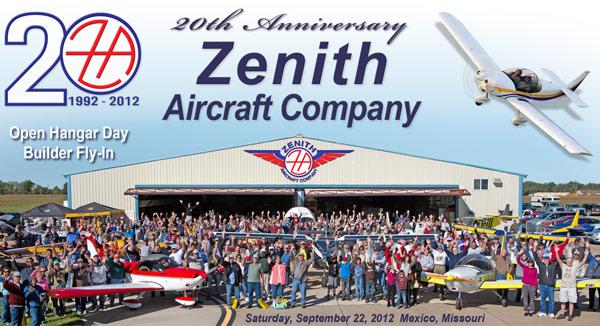 Zenith Aircraft Company 20th Anniversary