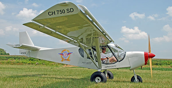 Off-airport with the STOL CH 750 Super Duty