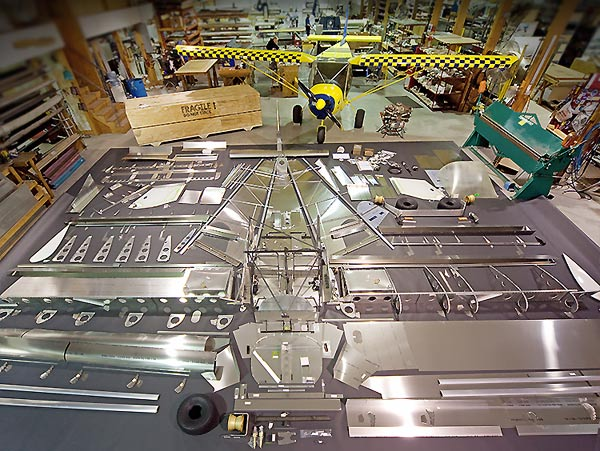 Building the STOL CH 750:  Click to see an overview of the wing assembly