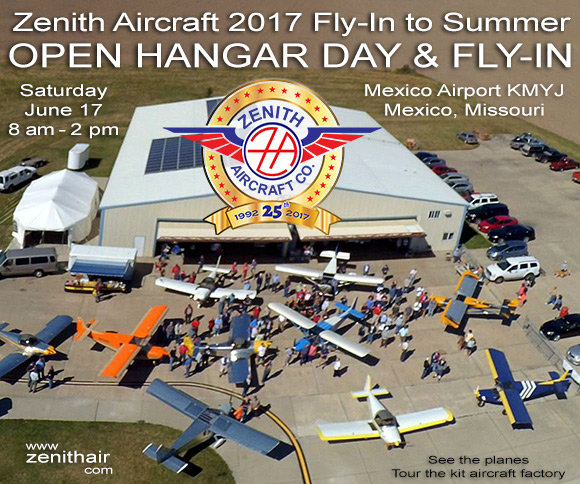 2017 Zenith Aircraft _Fly In to Summer_ event