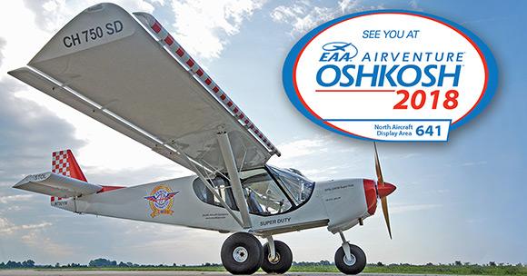 Zenith at Oshkosh AirVenture 2018