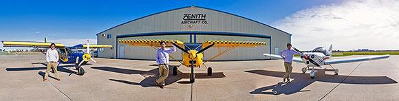 Zenith Aircraft president Sebastien Heintz
