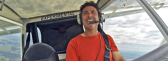 Sebastien Heintz in the Zenith CH 750 Cruzer