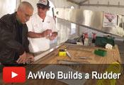 AvWeb builds a Zenith rudder at Sebring