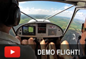 Demo flight at the Zenith workshop