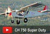 Flying the STOL CH 750 Super Duty