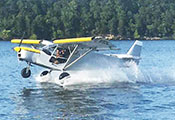 STOL CH 701 SkyJeep playing on the lake